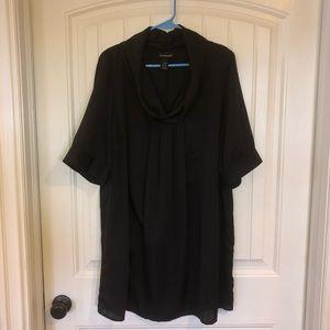 Plus size cowl neck Tunic/Dress